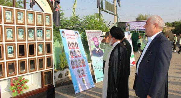 صبحگاه مشترک نیروی انتظامی گچساران+تصاویر
