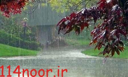 بارش نرم باران بر پیکرگچساران